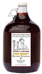 1 Gallon of Pure Orange Blossom Raw Honey - Glass Jug