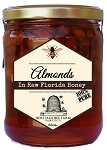 Roasted Almonds infused in Raw Florida Honey