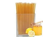 Lemon Flavored Honeysticks - no coloring added