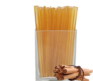 Cinnamon Flavored Honey Sticks - no coloring added