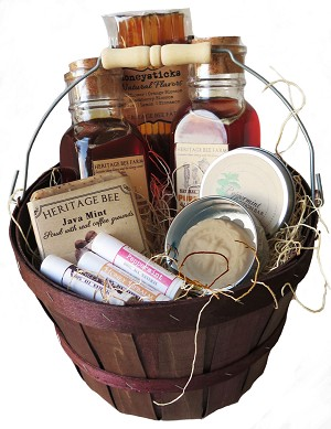 Honey and Hive Gift Basket - Medium