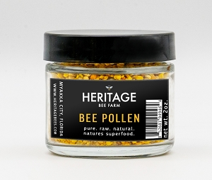 Bee Pollen , All Natural 2 oz.
