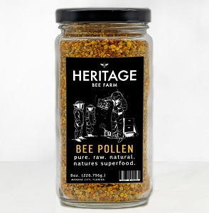 Bee Pollen , All Natural 8 oz.