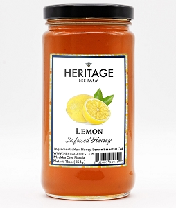 Lemon Honey, 16 oz.