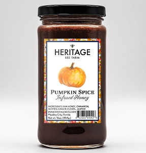 Pumpkin Spice Honey, 16 oz.