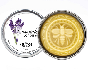 Beeswax and Lavender Lotion Bar