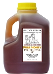 Local Wildflower Honey, 100% PURE Raw Honey, 3 lb.