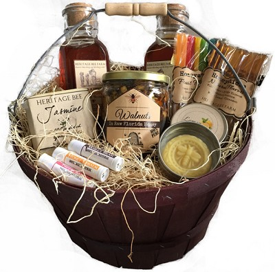Honey and Hive Gift Basket - Large
