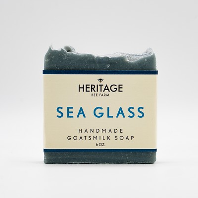 Sea Glass Handmade Soap with Coconut oil